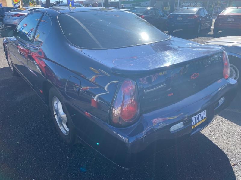 Chevrolet Monte Carlo 2001 price