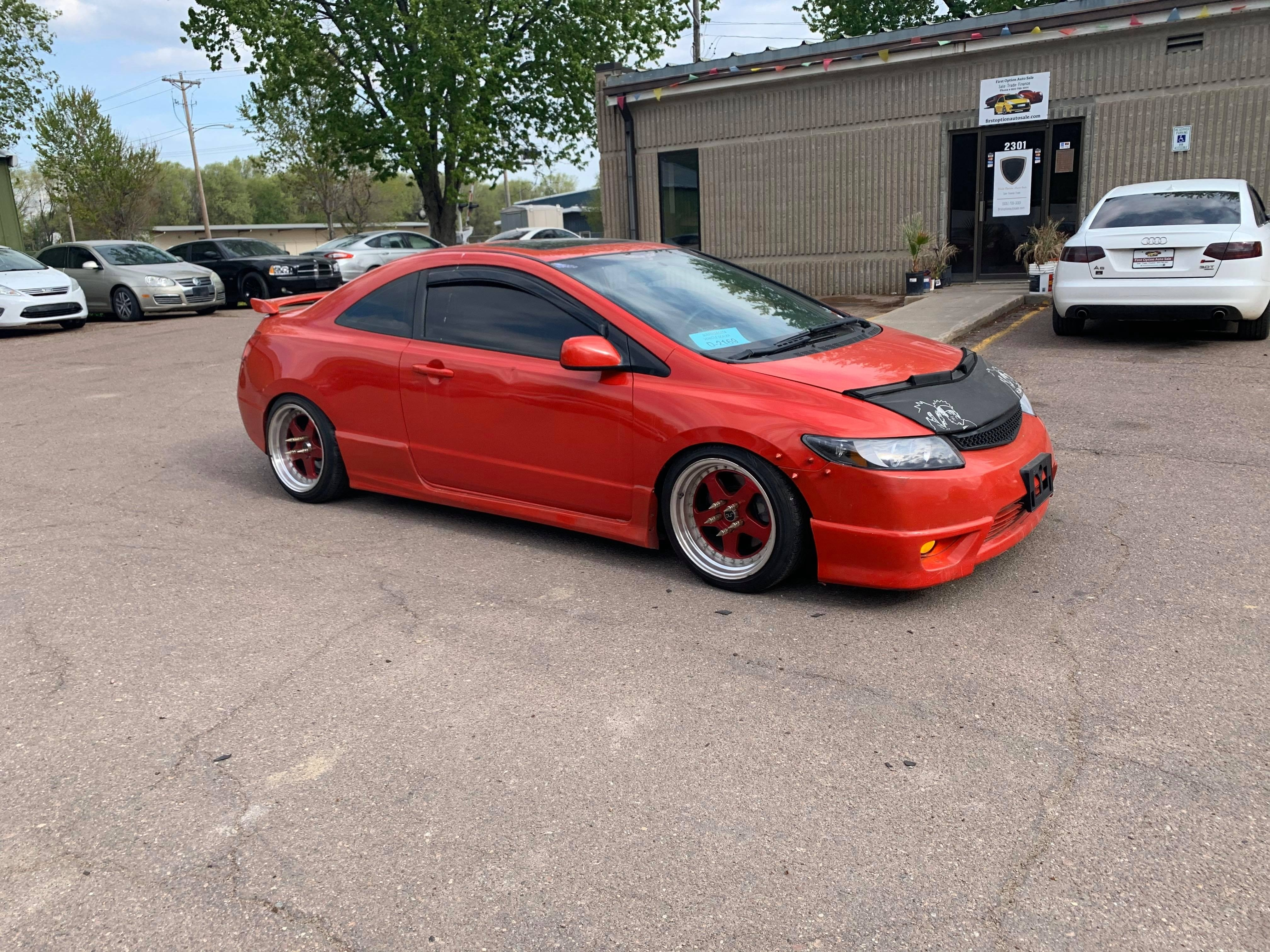 2007 Honda Civic Si 2dr Cpe Manual First Option Auto Sale Dealership In Sioux Falls