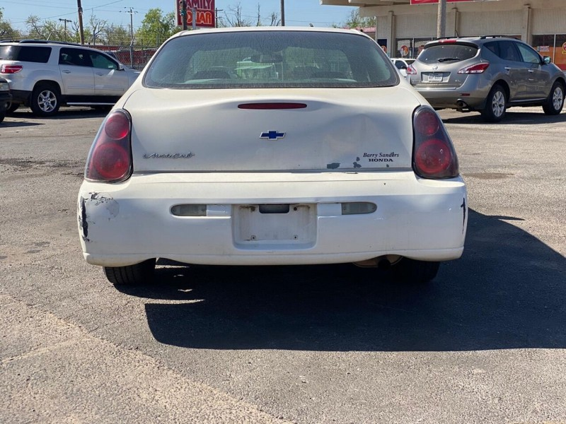 Chevrolet Monte Carlo 2005 price $3,600