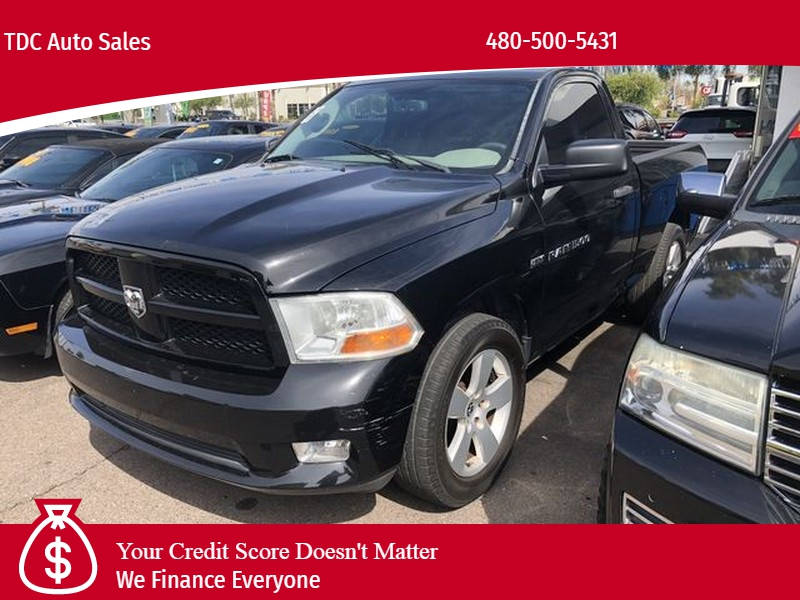 Ram 1500 Regular Cab 2012 price $11,499