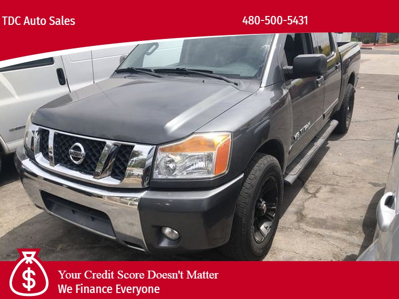 Nissan Titan Crew Cab 2012 price $12,499