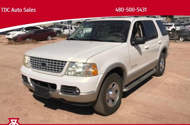 Ford Explorer 2002 price $3,450