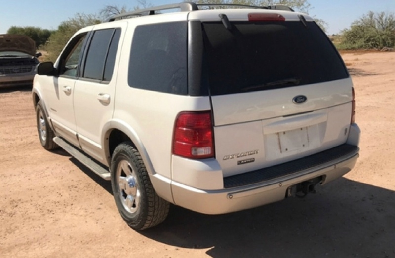 Ford Explorer 2002 price $3,450