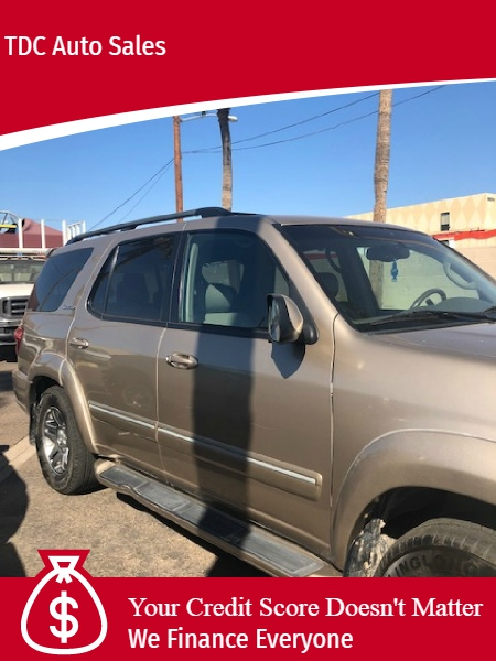 Toyota Sequoia 2006 price $2,500 Down