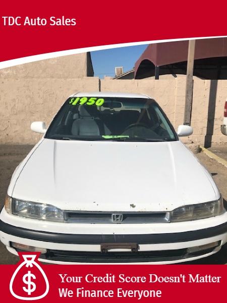 Honda Accord 1991 price $1,950