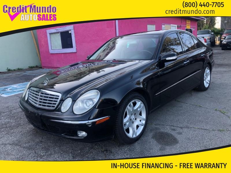 Mercedes-Benz E-Class 2003 price $4,997