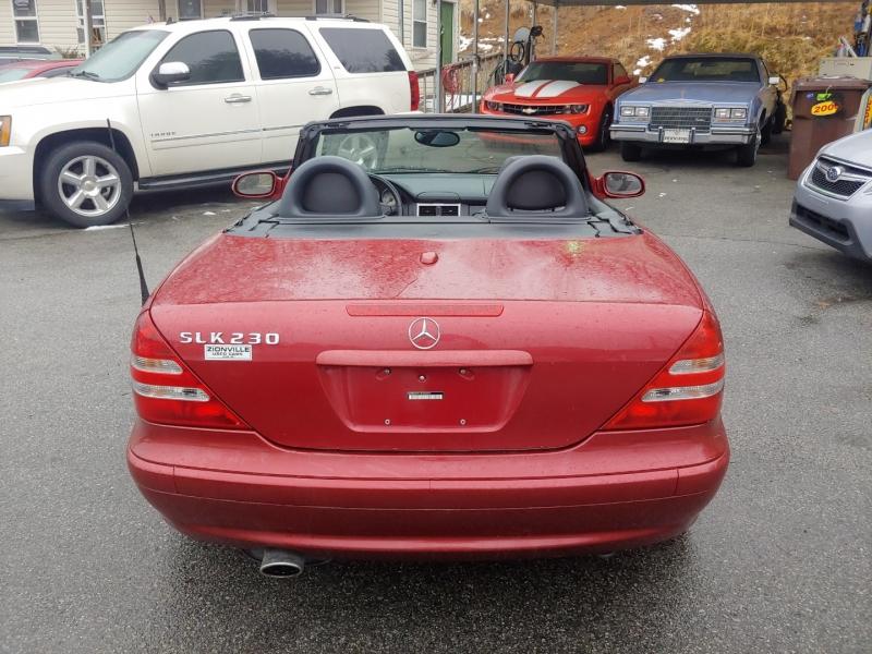 Mercedes-Benz SLK-Class 2002 price $8,995