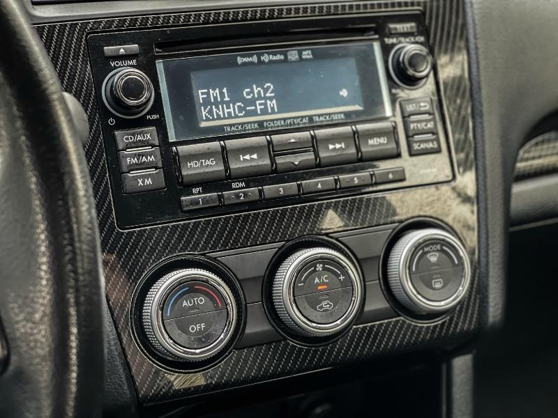 Subaru WRX 2015 price $17,999