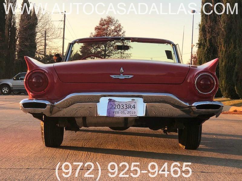 FORD THUNDERBIRD 1957 price $21,981