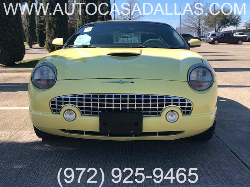 Ford Thunderbird 2002 price $8,781