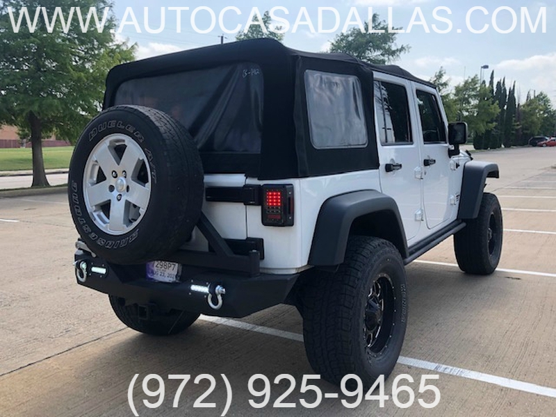 Jeep Wrangler Unlimited 2016 price $28,481