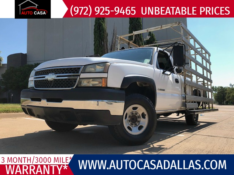 2005 chevrolet silverado 2500hd reg cab 133 wb work truck auto casa dealership in dallas auto casa