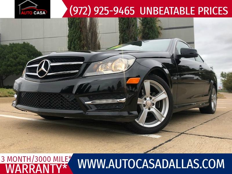 Mercedes-Benz C-Class 2012 price $12,988