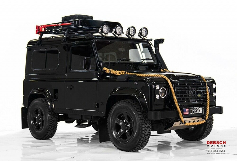 Land Rover Defender 1988 price $59,000