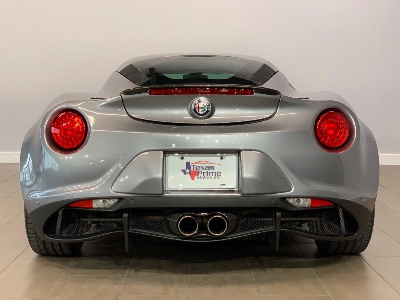 Alfa Romeo 4C 2018 price $54,995