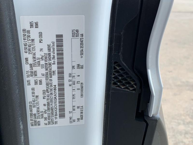 Ford Transit Passenger 2016 price $24,995