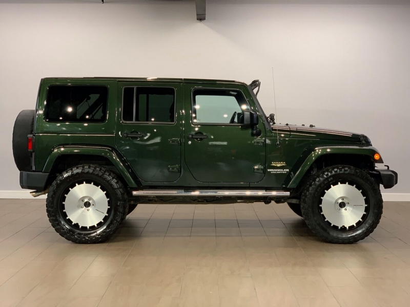 Jeep Wrangler Unlimited 2011 price $19,495
