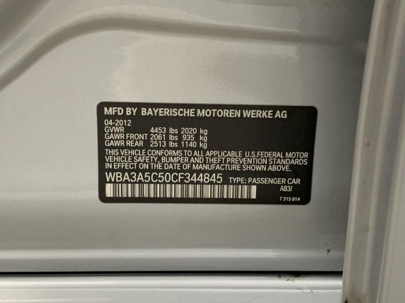 BMW 3 Series 2012 price $12,495