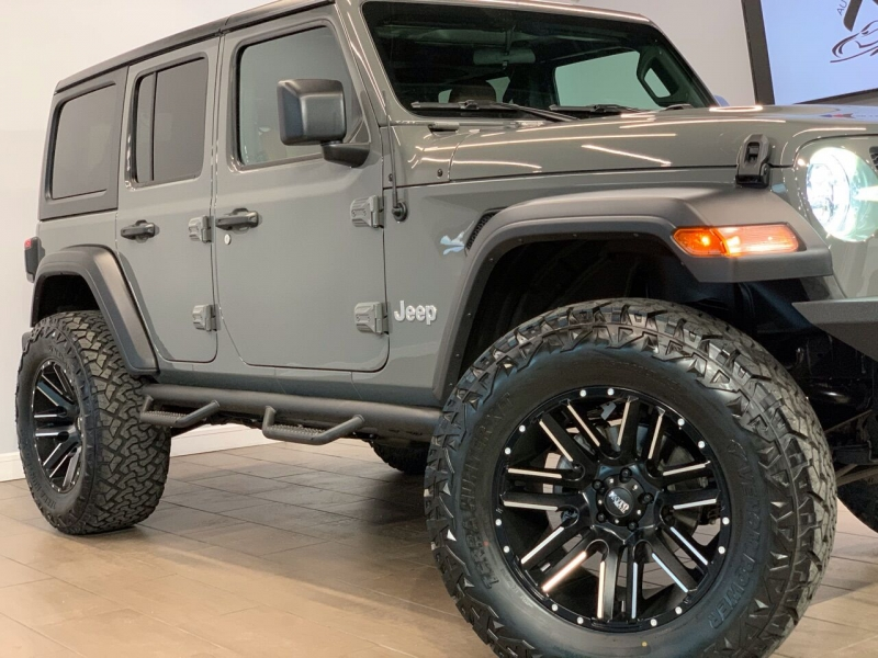 Jeep Wrangler Unlimited 2021 price $59,995
