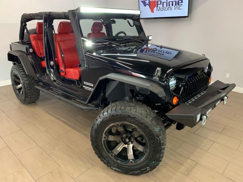 Jeep Wrangler Unlimited 2012 price $24,495