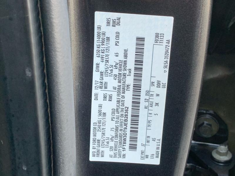 Ford F-350 Super Duty 2018 price $44,495