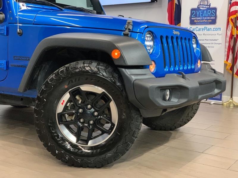 Jeep Wrangler 2015 price $19,000