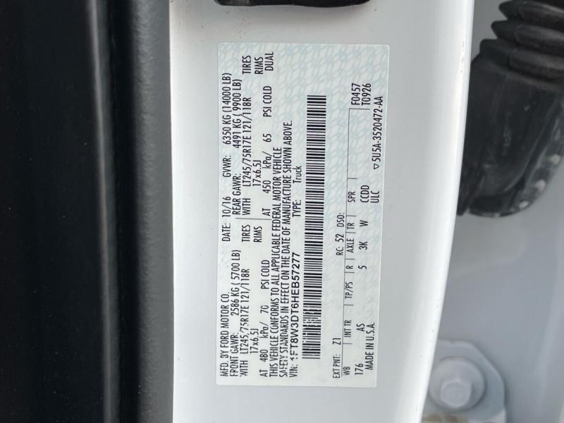 Ford F-350 Super Duty 2017 price $43,000