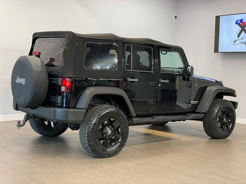 Jeep Wrangler Unlimited 2007 price $13,995
