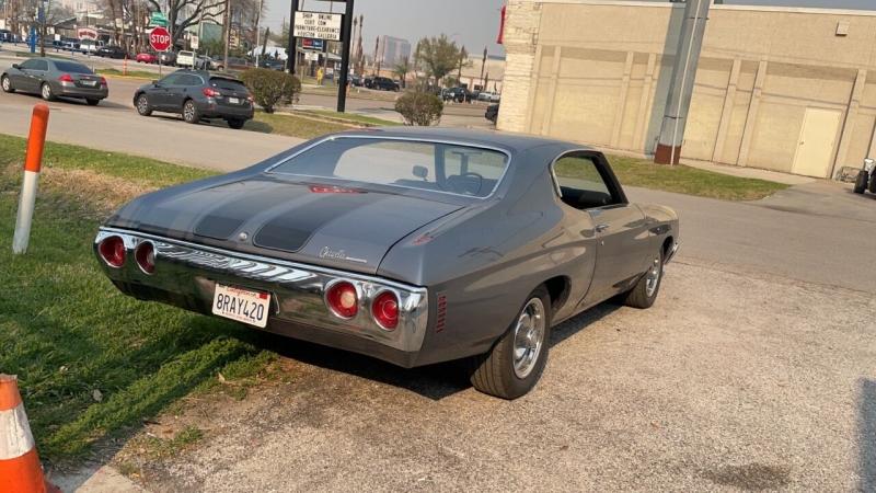 Chevrolet Chevelle 1972 price $39,995