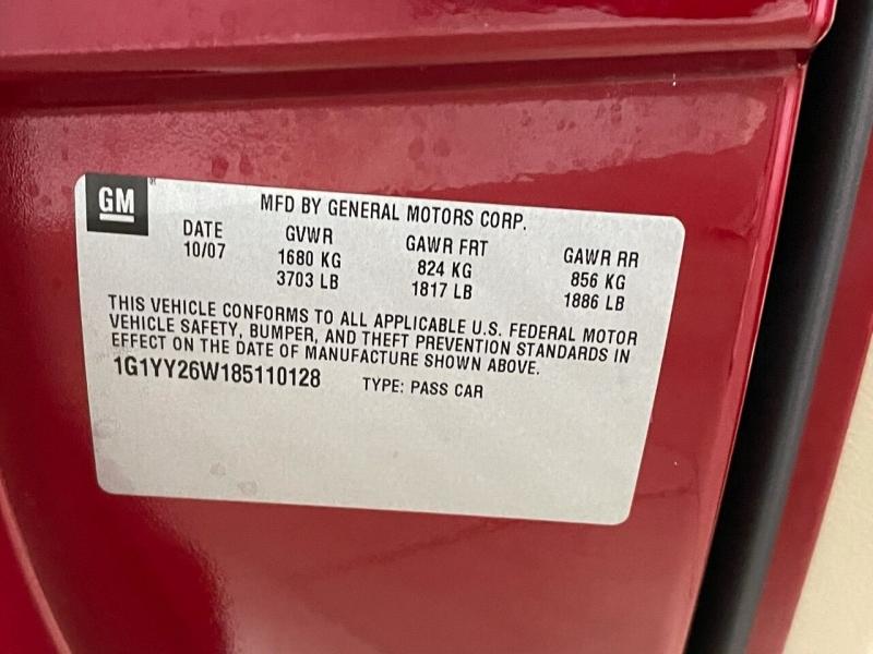 Chevrolet Corvette 2008 price $29,495