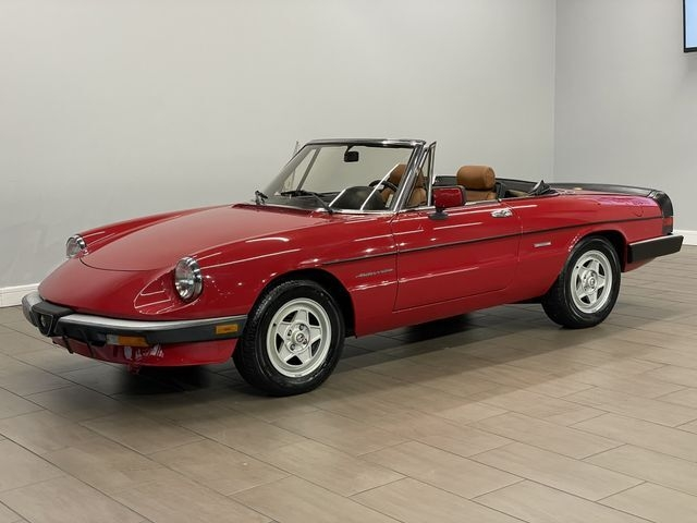 Alfa Romeo Spider 1986 price $12,999