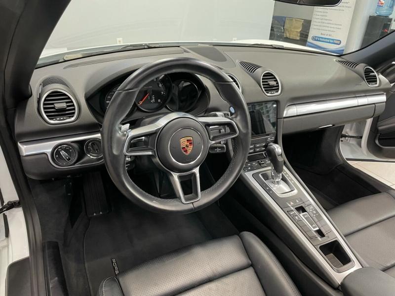 Porsche 718 Boxster 2017 price $59,995