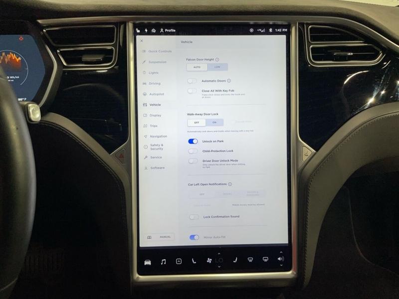 Tesla Model X 2016 price $74,995