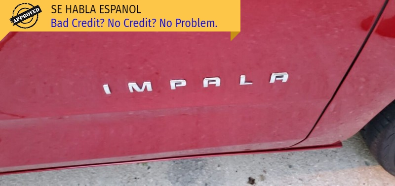 Chevrolet Impala 2014 price $13,995