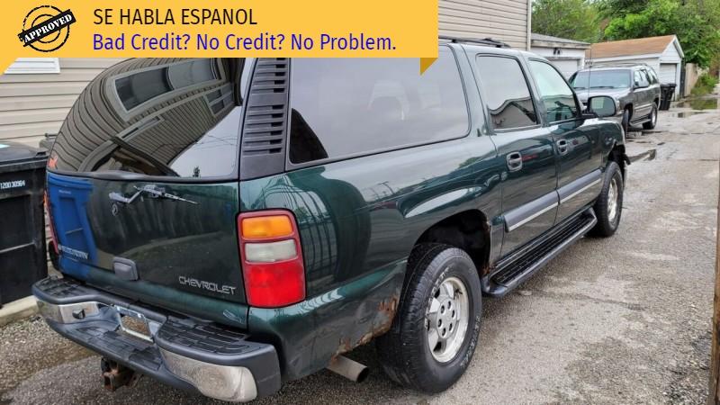 Chevrolet Suburban 2002 price $2,795