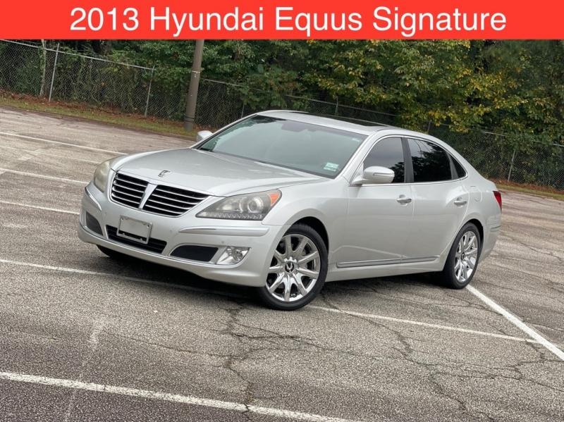 HYUNDAI EQUUS 2013 price $16,999