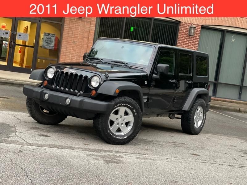 JEEP WRANGLER UNLIMI 2011 price $19,499