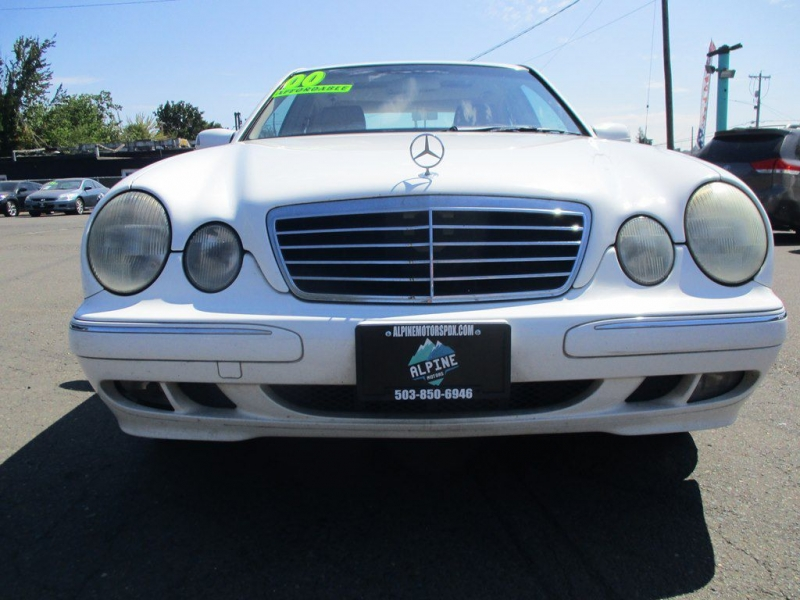 MERCEDES-BENZ E-CLASS 2000 price $3,500