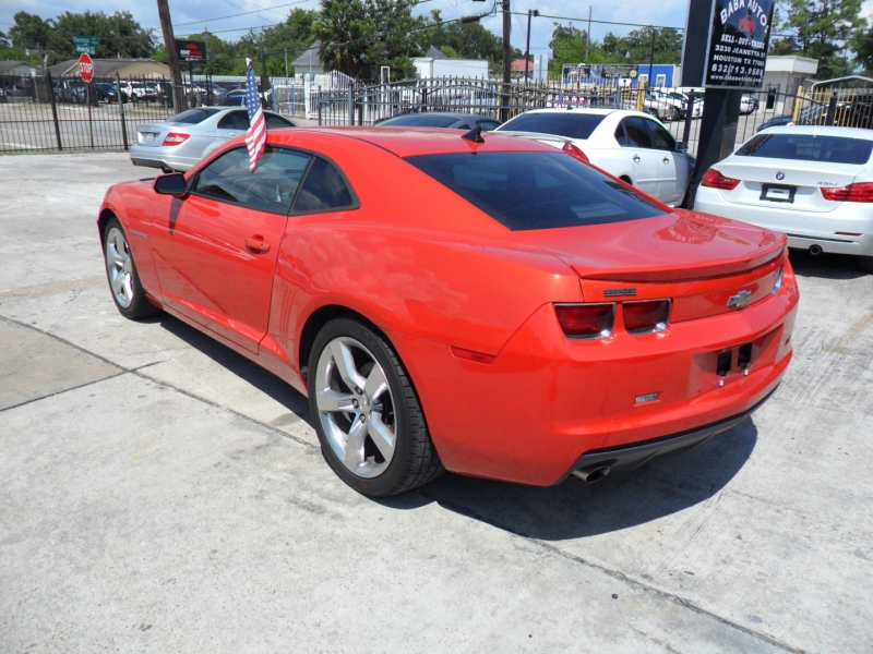Chevrolet Camaro 2013 price $7,900