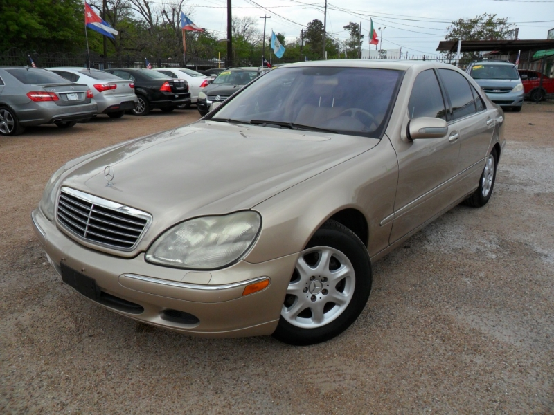 Mercedes-Benz S-Class 2002 price $2,900