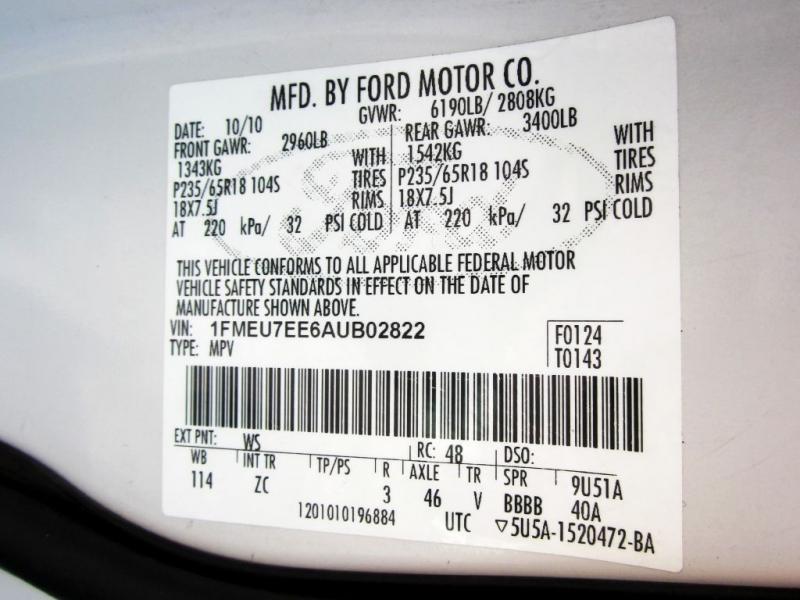 FORD EXPLORER 2010 price $6,999