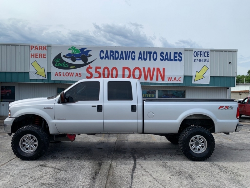 FORD F250 2005 price $16,990