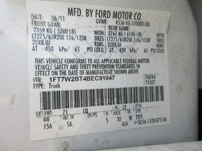 Ford Super Duty F-250 SRW 2011 price $25,999