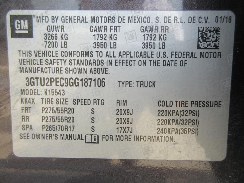 GMC Sierra 1500 2016 price $37,999