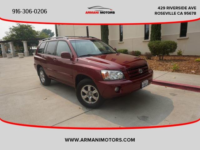 Toyota Highlander 2007 price