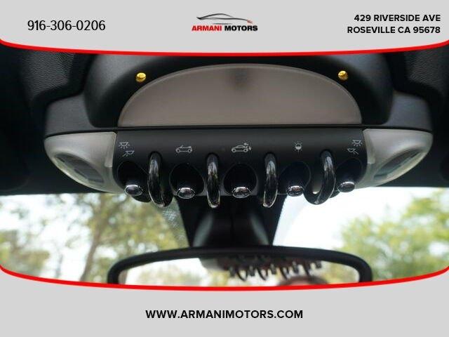 MINI Roadster 2013 price $14,995
