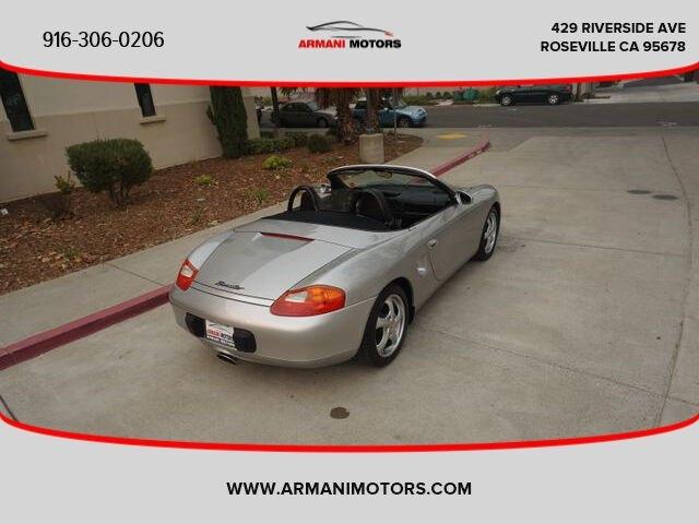 Porsche Boxster 1997 price $11,495