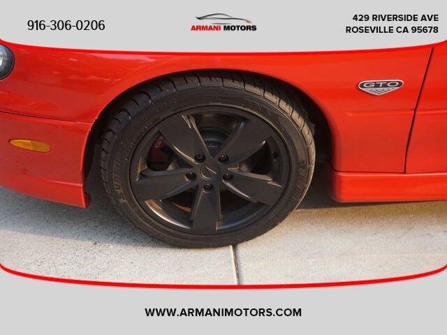 Pontiac GTO 2006 price $14,995