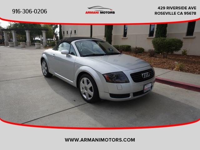 Audi TT 2001 price