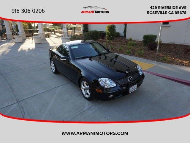 Mercedes-Benz SLK 2002 price $7,995